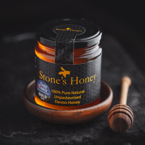 Stone's Honey, Pure, Natural, Unpasteurised, Devon Honey in Jar